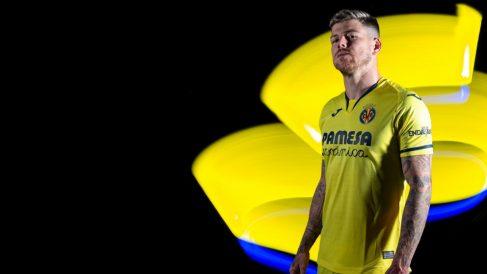 Alberto Moreno con la camiseta del Villarreal (Villarreal Club de Fútbol)