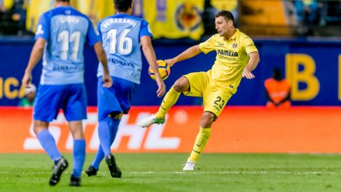 Daniele Bonera en un partido contra el Málaga (Villarreal Club de Fútbol)