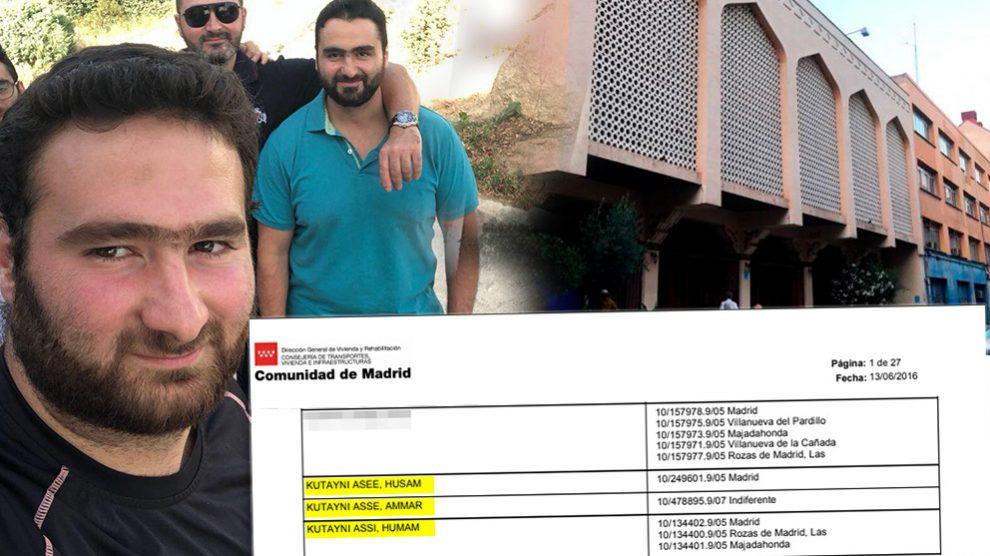 Algunos de los hermanos Kutayni solicitaron viviendas de protección oficial.