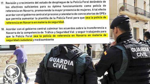 El PSOE de Navarra acepta una Ertzaintza propia para la Comunidad Foral