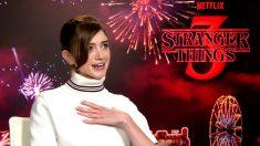 La actriz Natalia Dyer da vida a Lucy en 'Stranger Things', la serie de los hermanos Duffer para Netflix. Foto: EP
