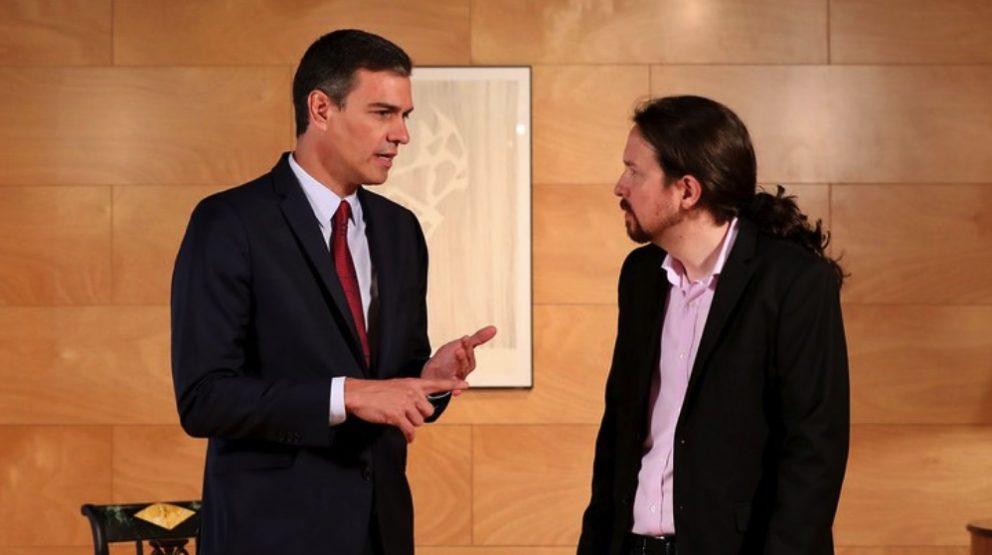 Pedro Sánchez y Pablo Iglesias. (Foto: PSOE)