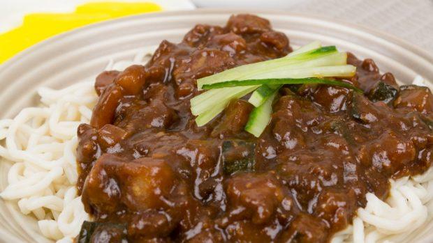 ffrijoles negros con carne