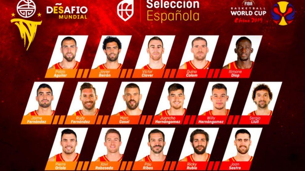 La selección española tiene una misión complicada en China para ser campeona.