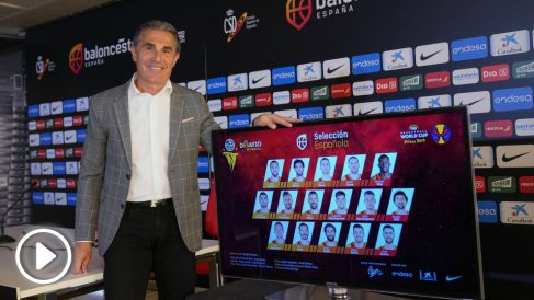 Sergio Scariolo, en la sede de la Federación. (FEB) copia