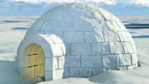 Aprende cómo construir un iglú