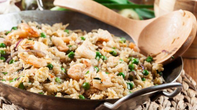 Receta de arroz al ajillo