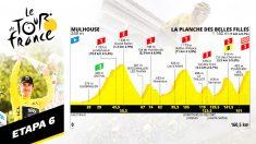 Etapa 6 del Tour de Francia, hoy jueves 11 de julio