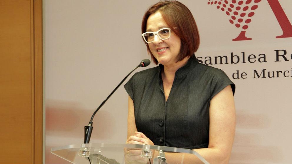 Isabel Franco, portavoz de Ciudadanos en la Asamblea de Murcia. (EP)