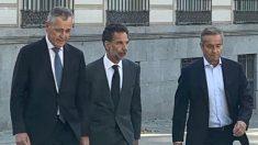 Exdirectivos de BBVA acuden a declarar a la Audiencia Nacional