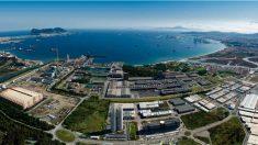 Factoría de Acerinox en la Bahía de Cádiz