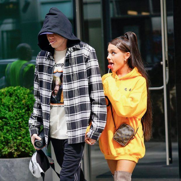 Ariana Grande confirma que Pete Davidson, ¿era una distracción para ella?
