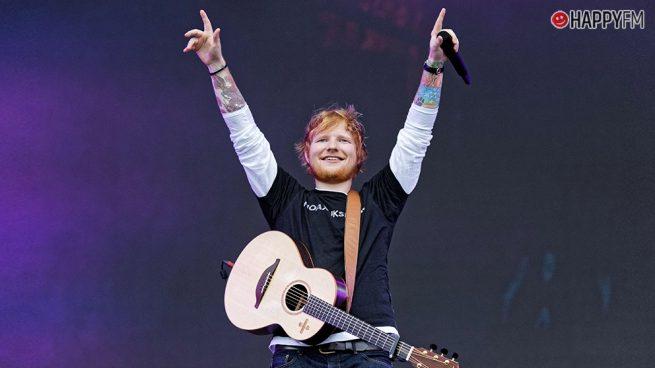 Ed Sheeran se convierte en el artista más escuchado de Spotify
