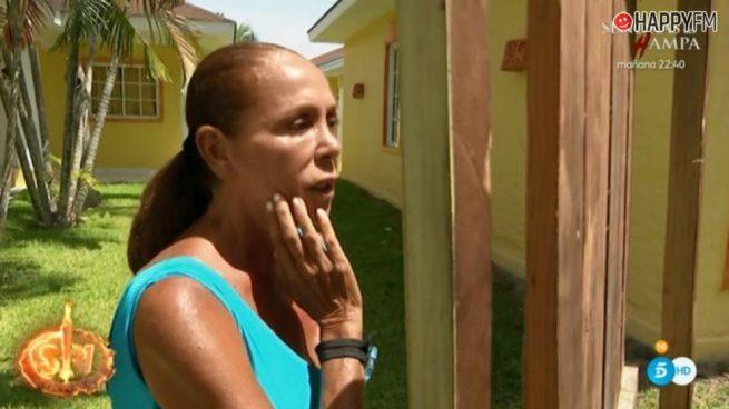 Isabel Pantoja se ve en el espejo y se sorprende con su cambio físico