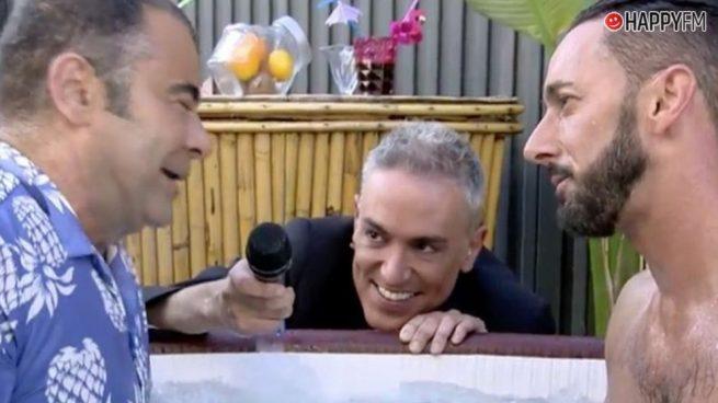 'Sálvame': Jorge Javier Vázquez, ilusionado tras su cita en directo con Mr Gay Sevilla