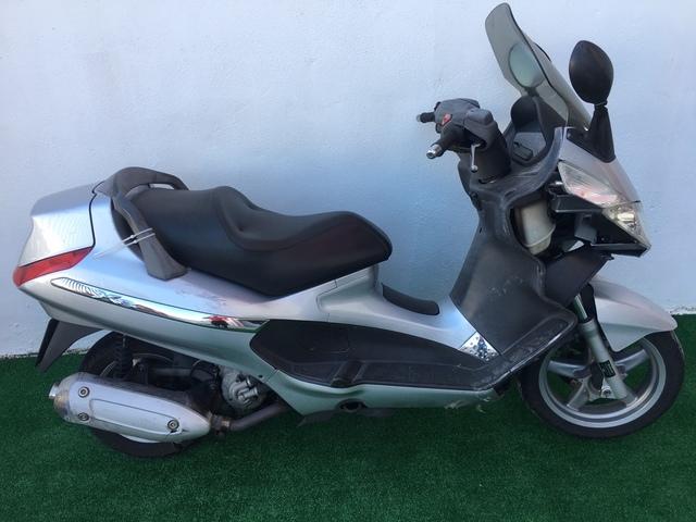 Modelo de la motocicleta que vende Tania Sánchez.