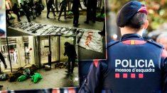 Juzgados de Barcelona atacados por los CDR.