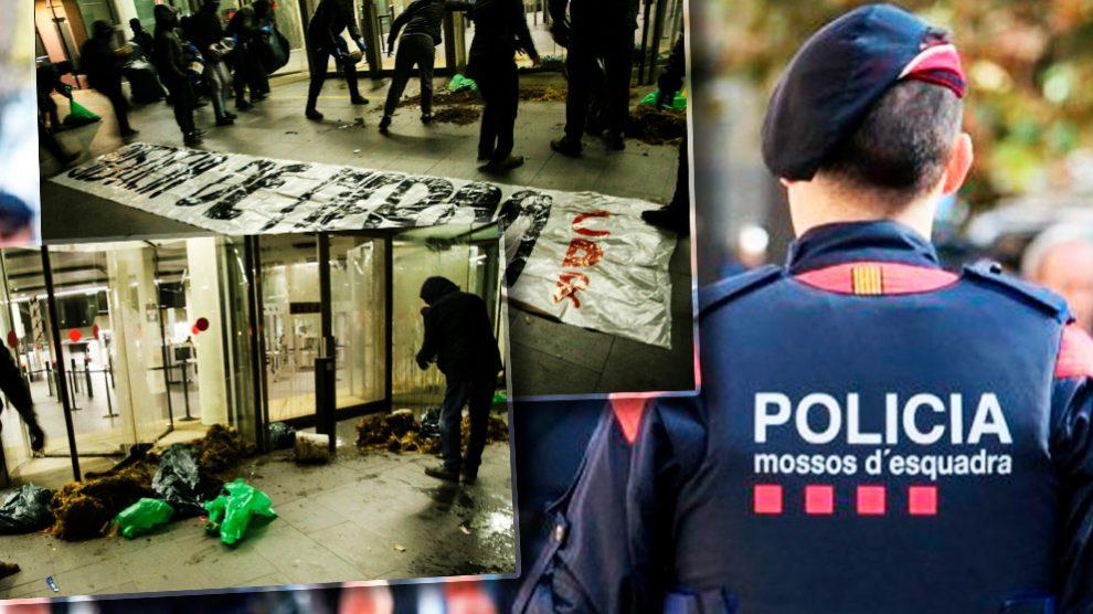 Juzgados de Barcelona atacados por los CDR