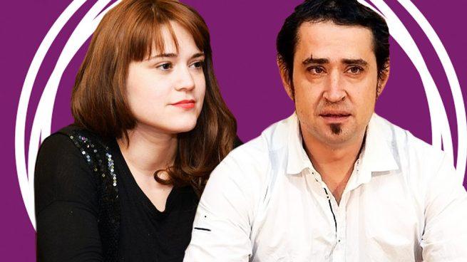 El secretario general de Podemos La Rioja, Kiko Garrido, y su pareja, Nazaret Martín.