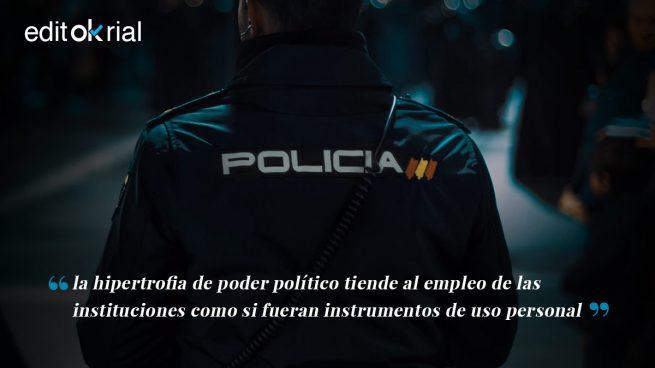 Sánchez abre la compuerta de las cloacas policiales