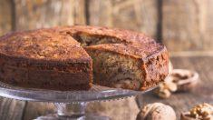 Pan de nueces y chocolate