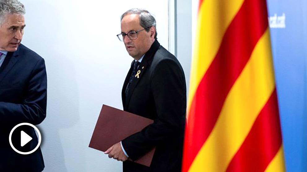 Quim Torra, presidente de la Generalitat @EFE