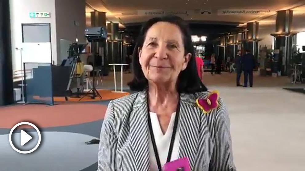 La eurodiputada de Vox Mazaly Aguilar.