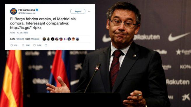 El tuit del Barça que se ha hecho viral y les deja retratados tras el fichaje de Griezmann