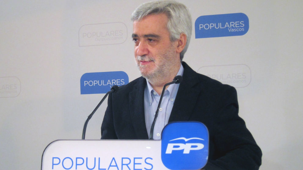 Juan Carlos Cano, juntero del PP en la Junta General de Guipúzcoa. (Foto: Europa Press)