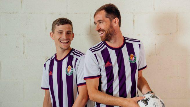 Nueva camiseta Adidas del Valladolid