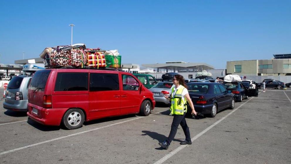 'Operación Paso del Estrecho' en Algeciras.