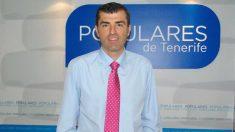 El presidente del Partido Popular de Tenerife, Manuel Domínguez. Foto: Europa Press