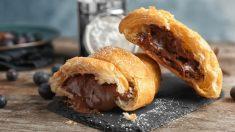 Receta de Croissants fáciles rellenos de nutella