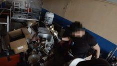 Unos jóvenes se filman entre las ruinas del Vicente Calderón (Youtube:Imix)