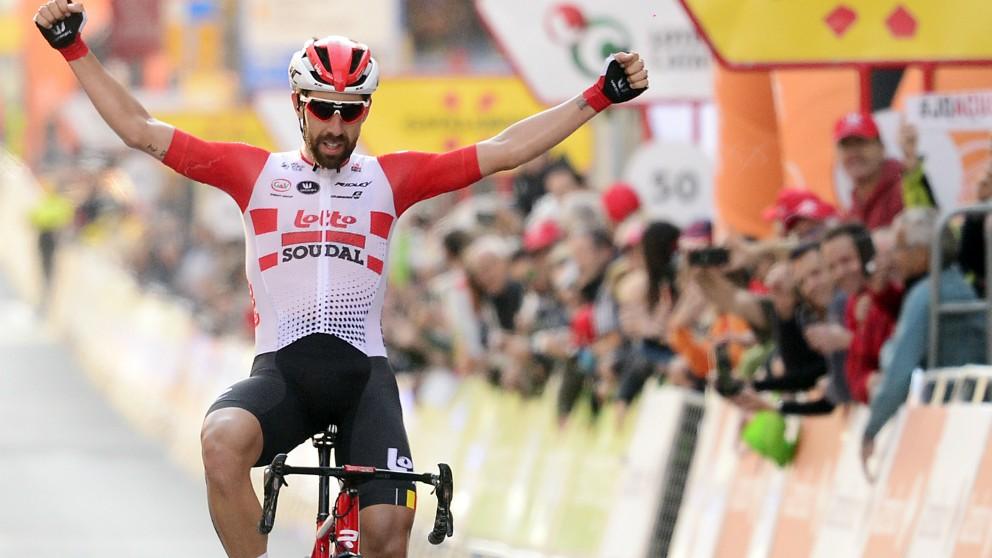 De Gendt se impuso en la octava etapa del Tour de Francia. (AFP)