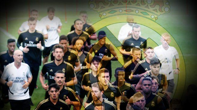 La plantilla del Real Madrid: «Estamos reventados»