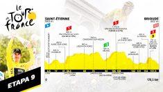 Etapa 9 del Tour de Francia, hoy domingo 14 de julio.