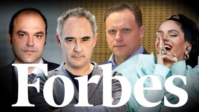Forbes reconoce la creatividad de Daniel Lacalle, Rosalía, Ferran Adrià o José Carlos Díez