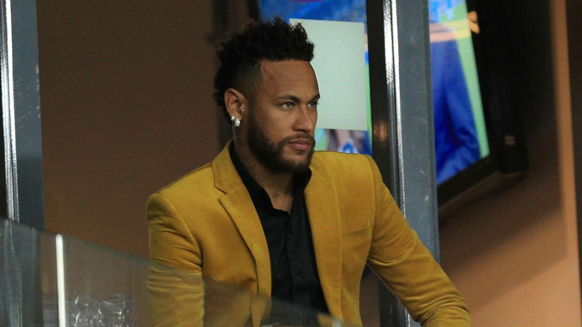 Neymar durante las semifinales de la Copa América que enfrentó a Brasil con Argentina (Getty).