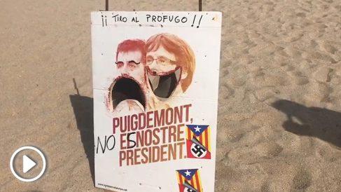 'Tiro al prófugo' en la Playa de Cabrera de Mar.