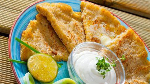 Receta de Tortas de patata al horno