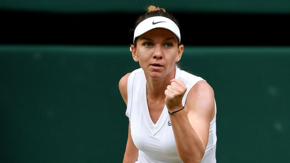 Simona Halep. (Getty)