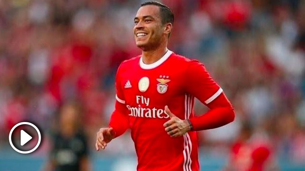 RDT ya los marca a pares con el Benfica.