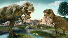 Dinosaurios en su hábitat