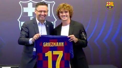 Griezmann lucirá el número '17'.