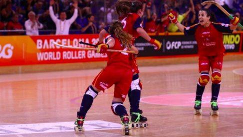 España se proclamó por séptima vez campeona del mundo de hockey patines. (Europa Press)