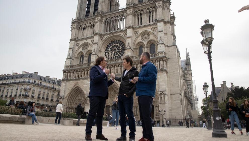 Los finalistas de 'Masters de la reforma' estarán en París