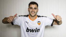 Maxi Gómez, nuevo jugador del Valencia (Valencia Club de Fútbol)