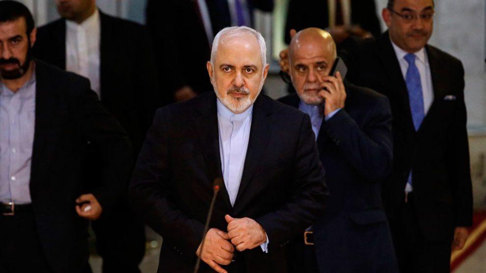 El ministro de Relaciones Exteriores de Irán, Mohamad Yavad Zarif. Foto: EP