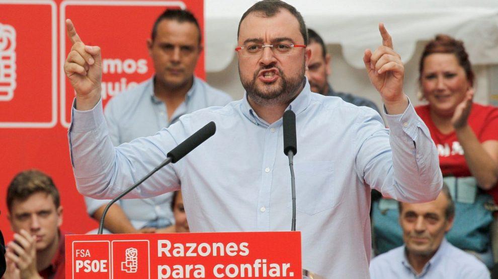 Principado de Asturias, Adrián Barbón (Foto: EFE).